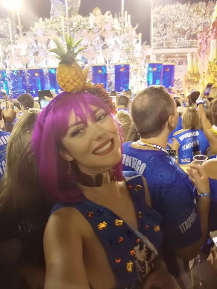 Sofia Ribeiro no Carnaval do Brasil