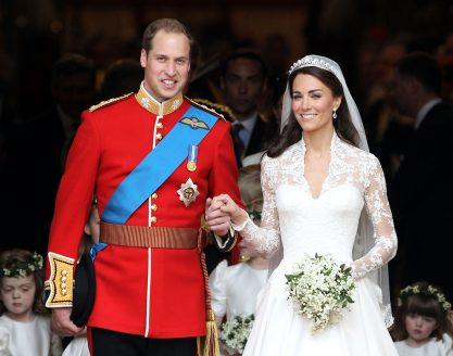 Kate e William celebram seis anos de casamento