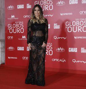 Luciana Abreu arrasa mãe e irmã em noite de Globos de Ouro