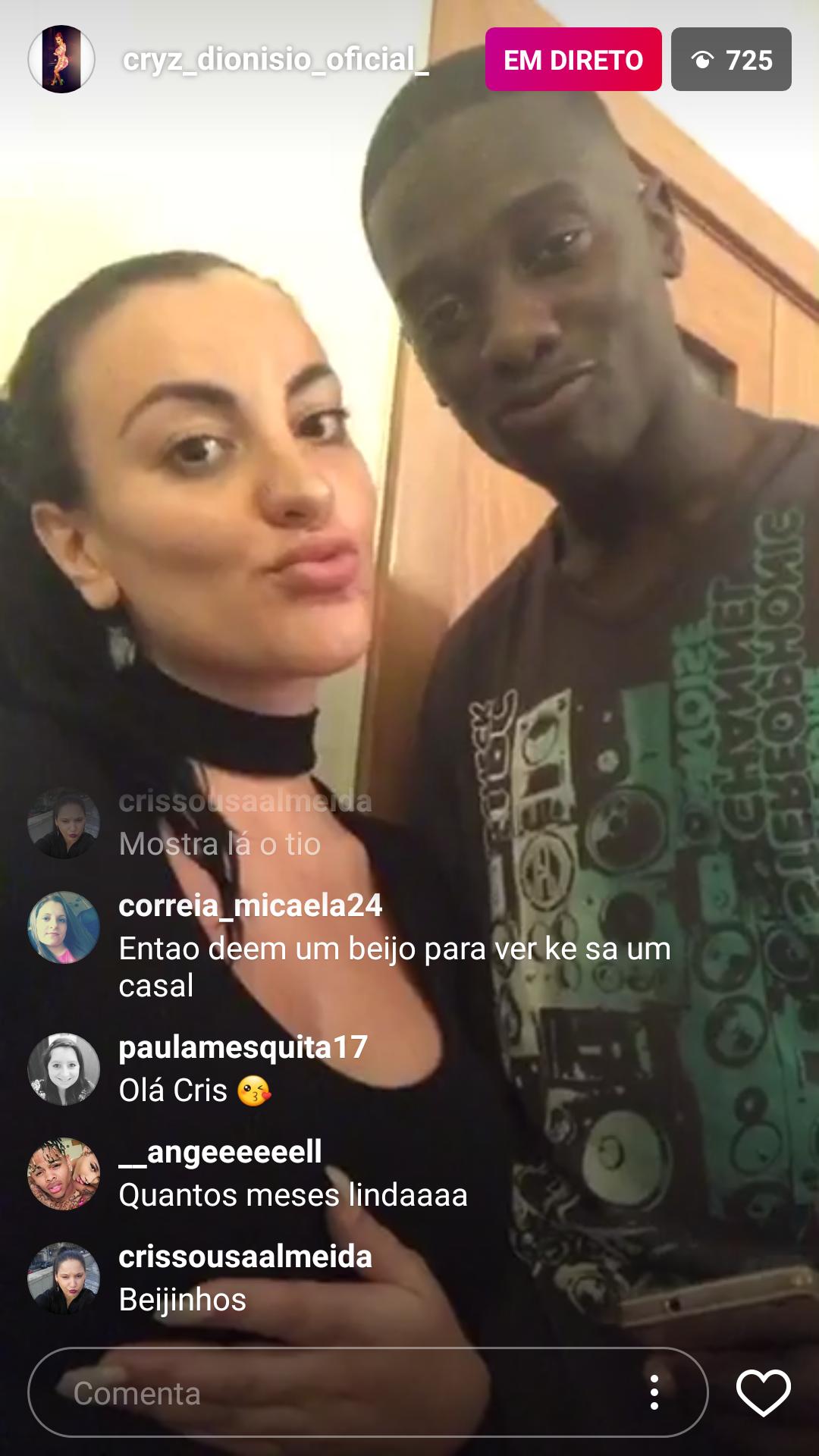 Cristiana Dionísio e João Dias