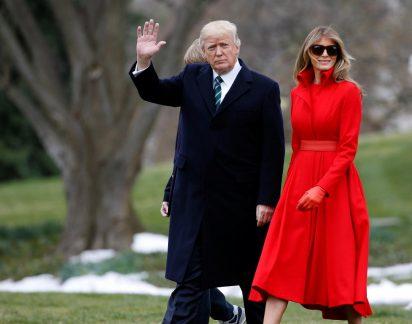 Decifre a sua relação: Melania e Donald Trump são casal (sem) exemplo