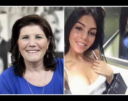 Dolores Aveiro copia Georgina e usa modelito semelhante
