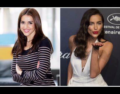 Catarina Furtado e Irina Shayk juntas em campanha de lingerie