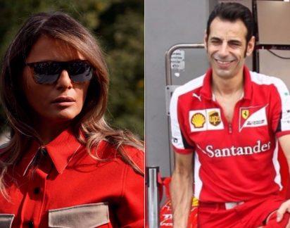 Mulher de Trump é comparada a mecânico da Ferrari