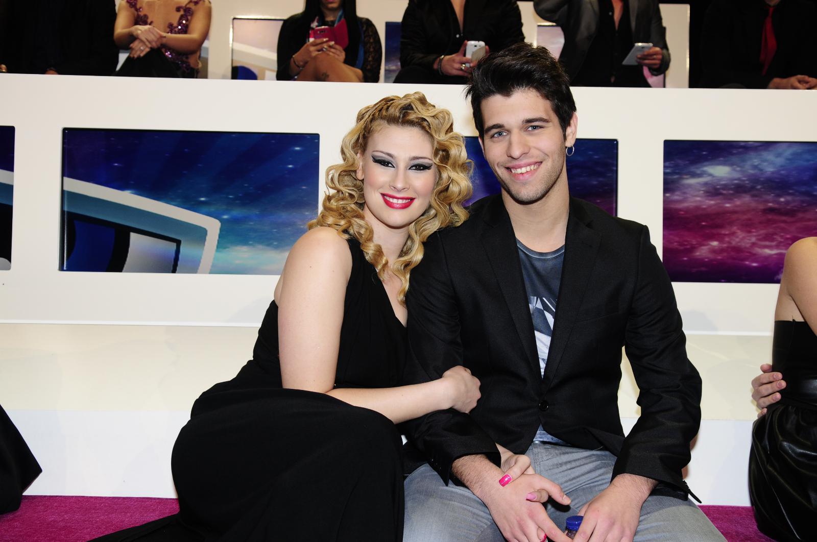 Tiago Ginga e Bernardina Brito