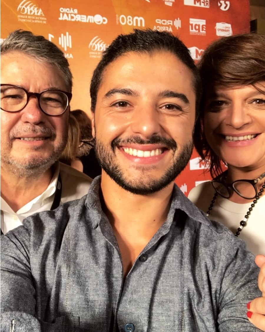 Rui Maria Pêgo, Júlia Pinheiro e Rui Pêgo