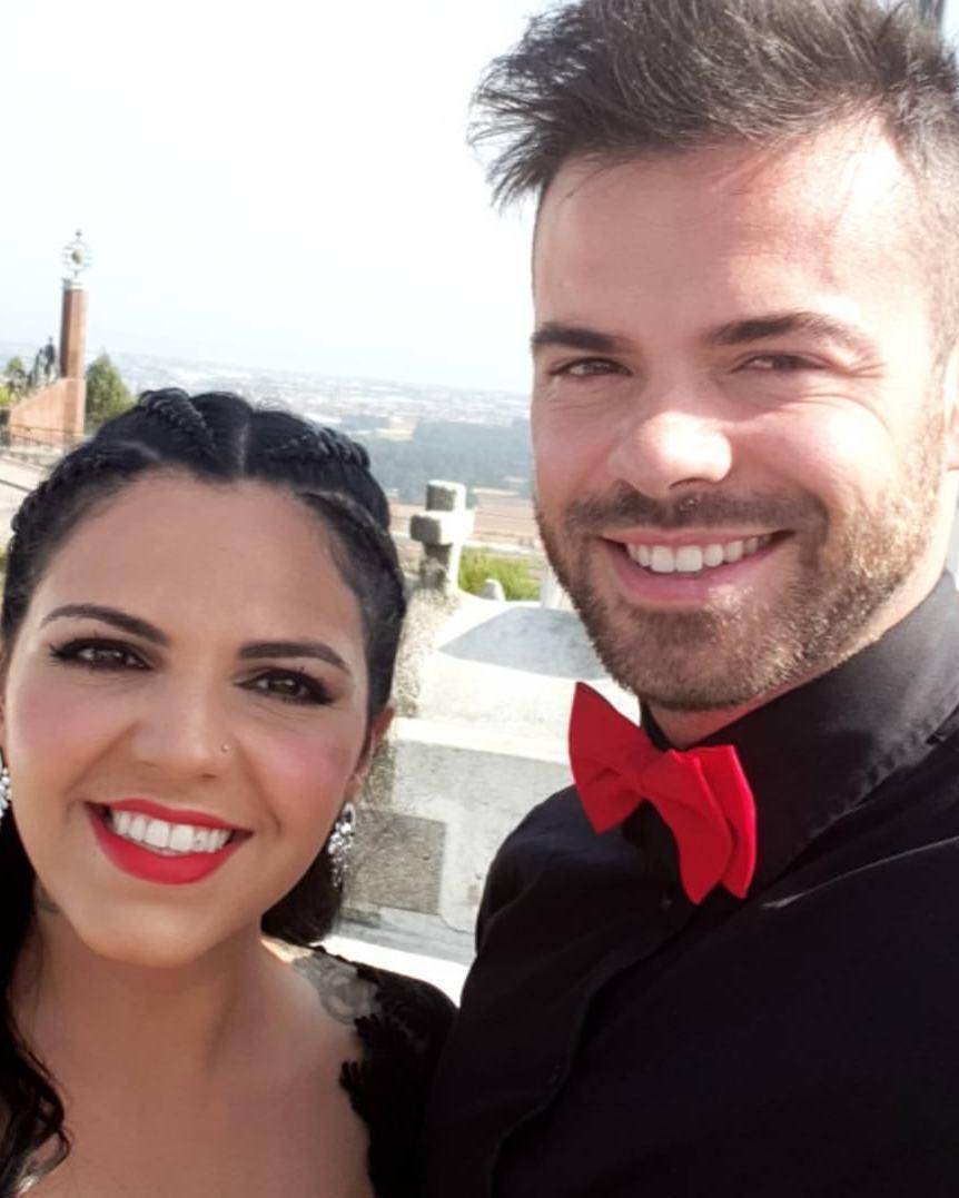 Rúben Boa Nova e Tatiana Magalhães