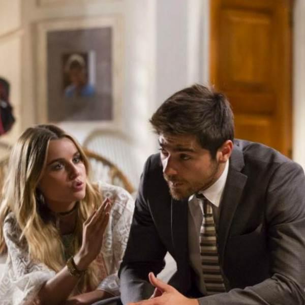 A Herdeira: Lola torna-se informante de Luz e Vicente