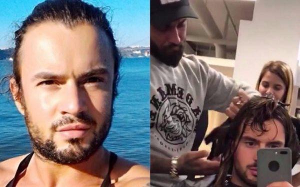 Marco Costa deixa Carlos Sousa cortar-lhe o cabelo