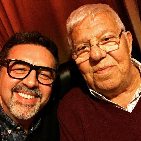 José Carlos Malato recorda o pai com foto de fazer arrepiar