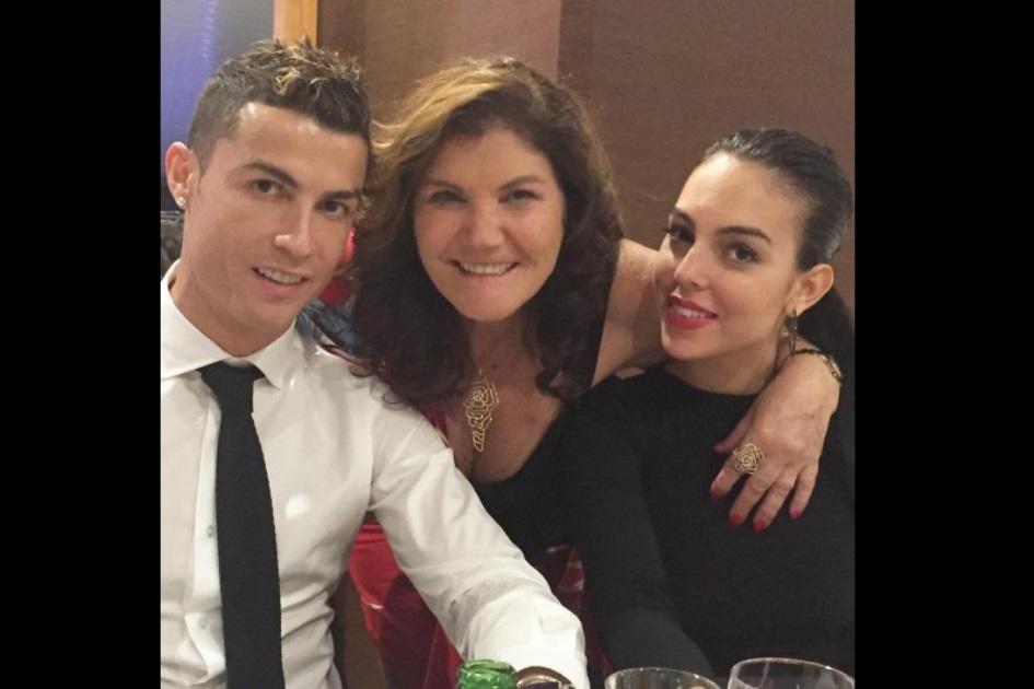 Dolores Aveiros, Georgina Rordriguez, Cristiano Ronaldo,