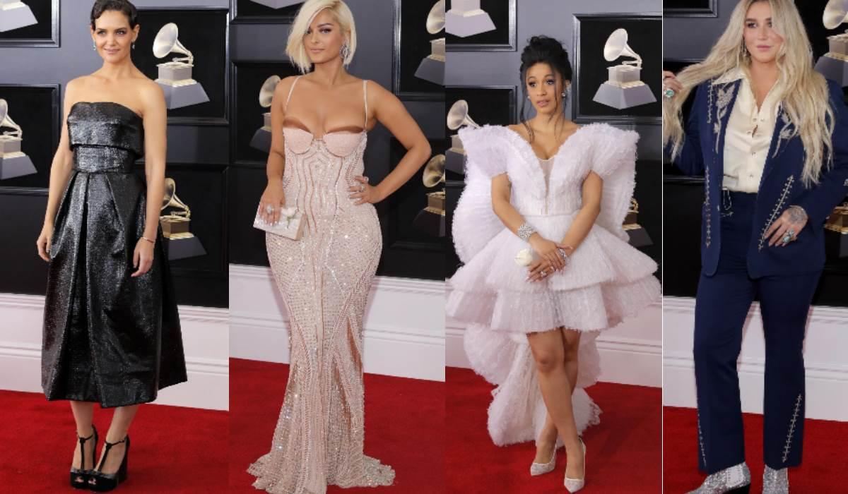 Grammy's 2018: Os piores (e mais estranhos) looks da passadeira vermelha