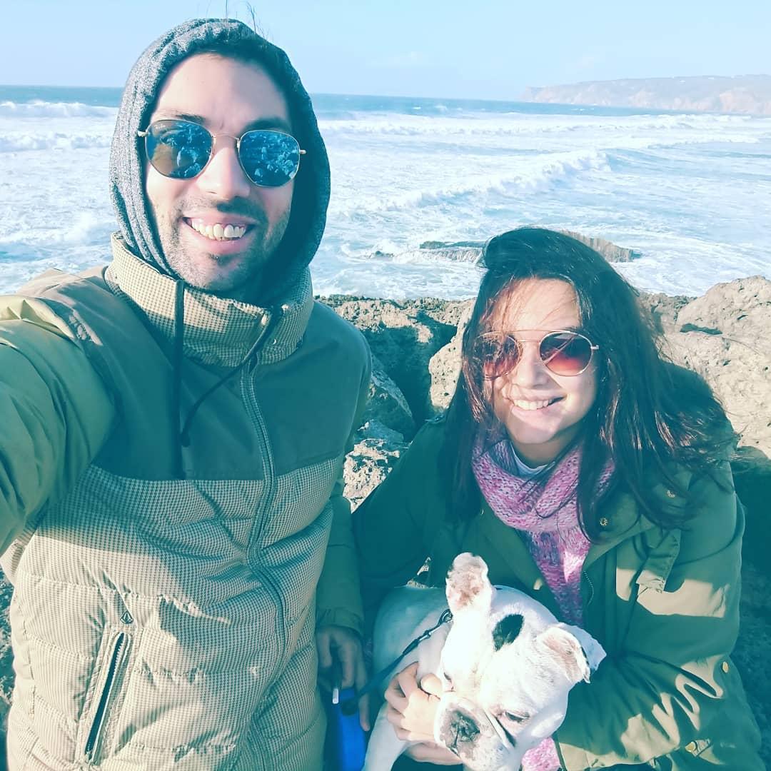 Ana Guiomar e Diogo Valsassina