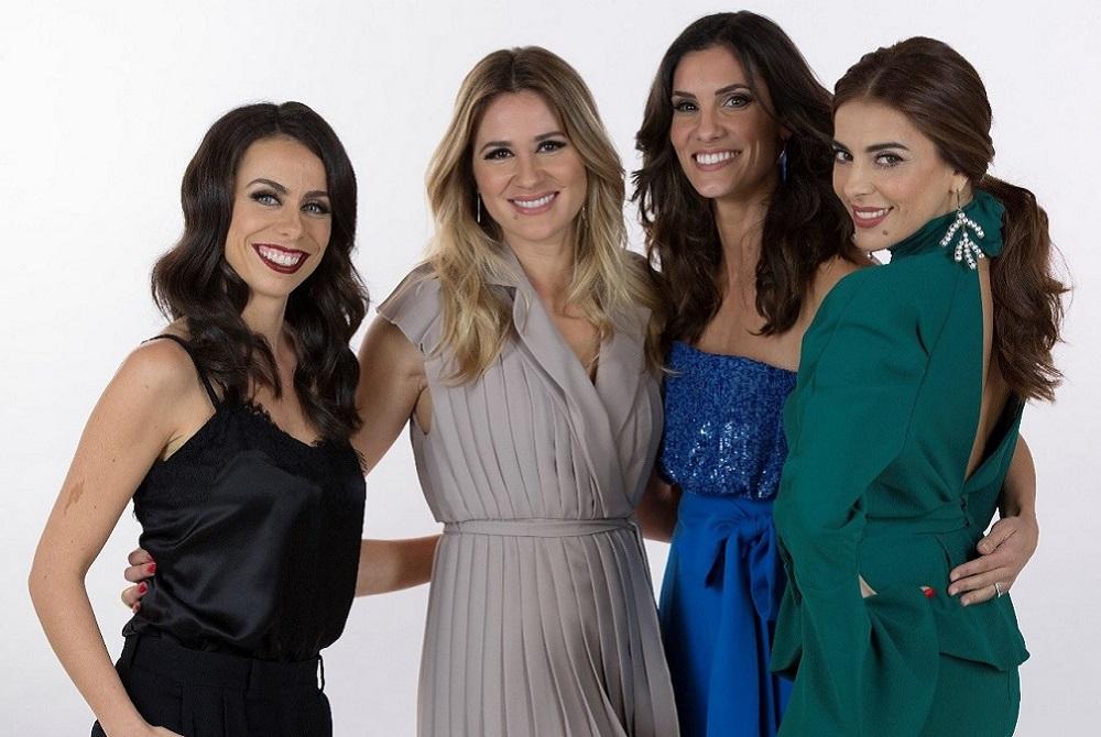 Revelados os looks das apresentadoras para a grande final — Eurovisão