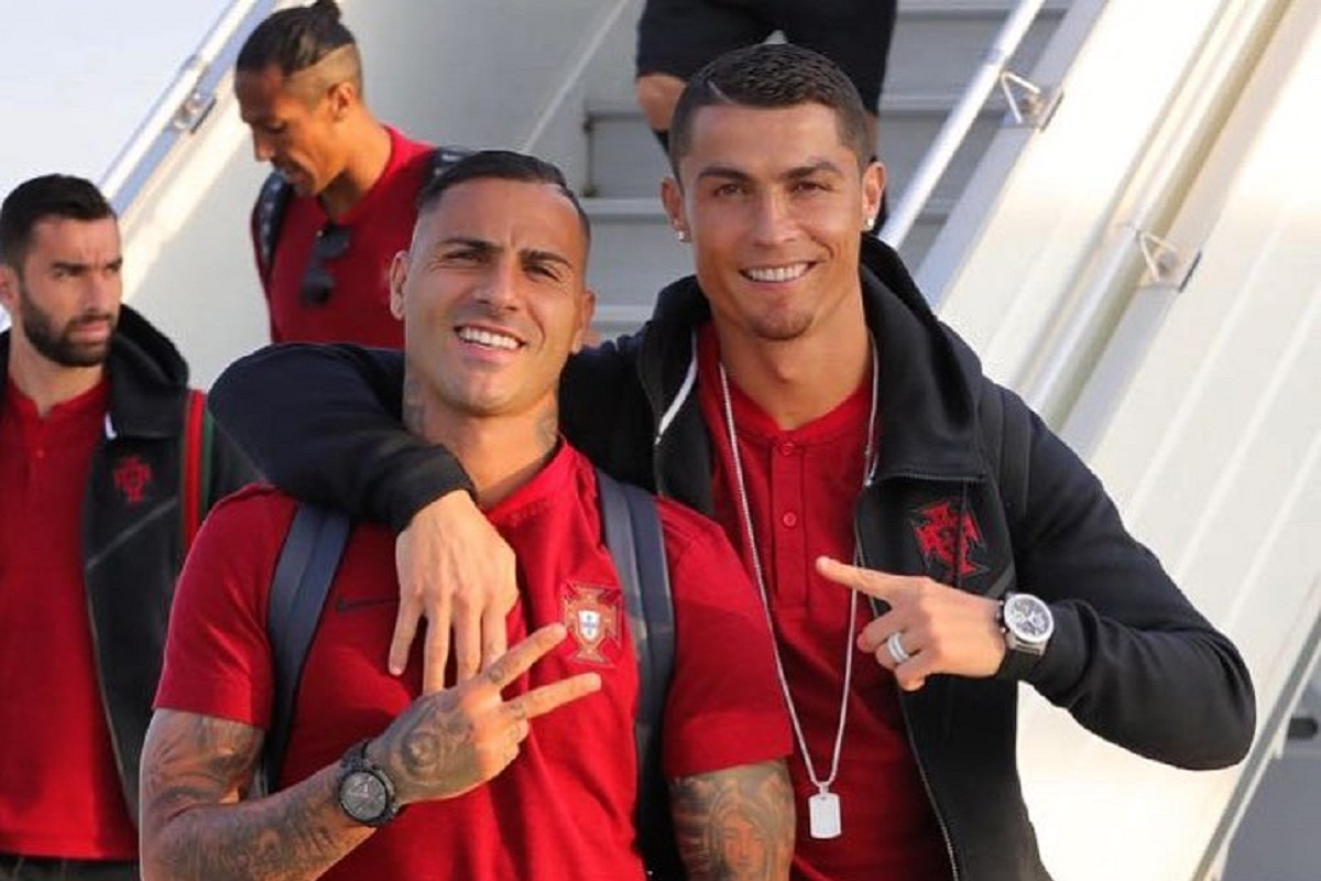 Cristiano Ronaldo e Quaresma