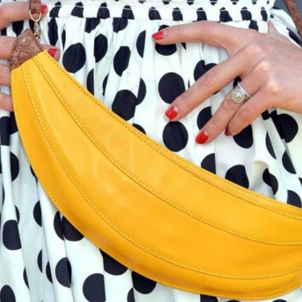 Bananas: A fruta da moda que tem que usar para completar o seu look