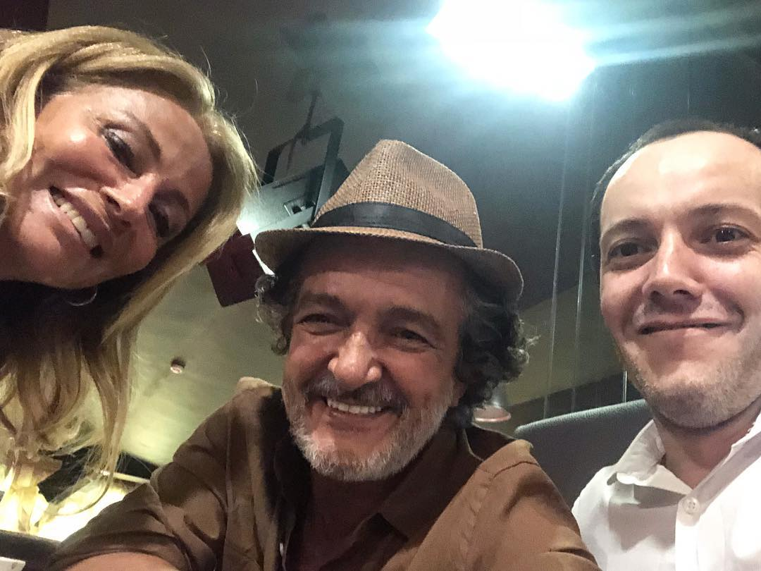Rogério Samora e Alexandre Lencastre