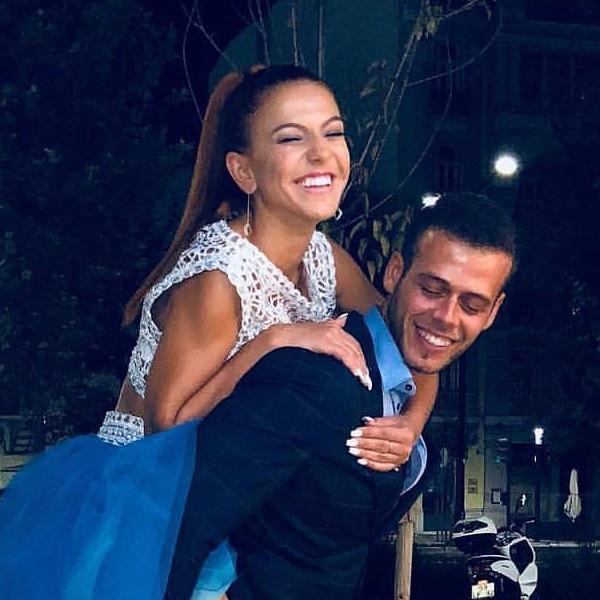Feliz ao lado de João Moreira, Gabriela manda «boca» a César Matoso