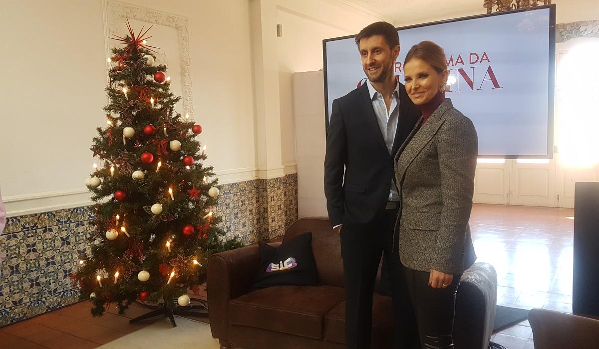 Cristina Ferreira e Daniel Oliveira