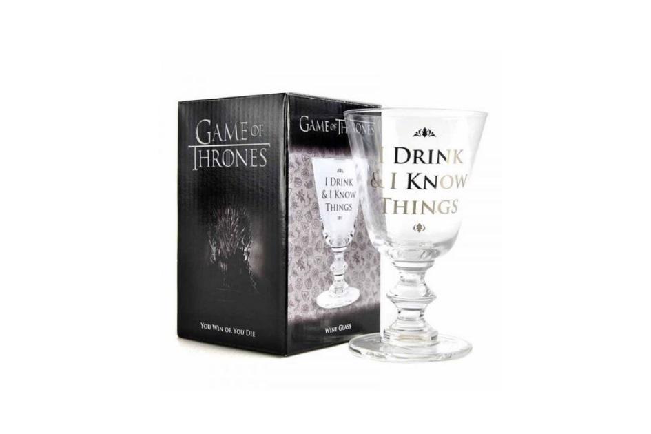Copo de Vidro Game of Thrones - 12,99 euros - Bairro Arte