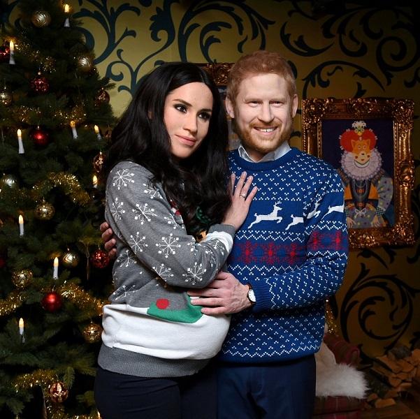 Príncipe Harry e Meghan Markle em versão… terror de Natal!