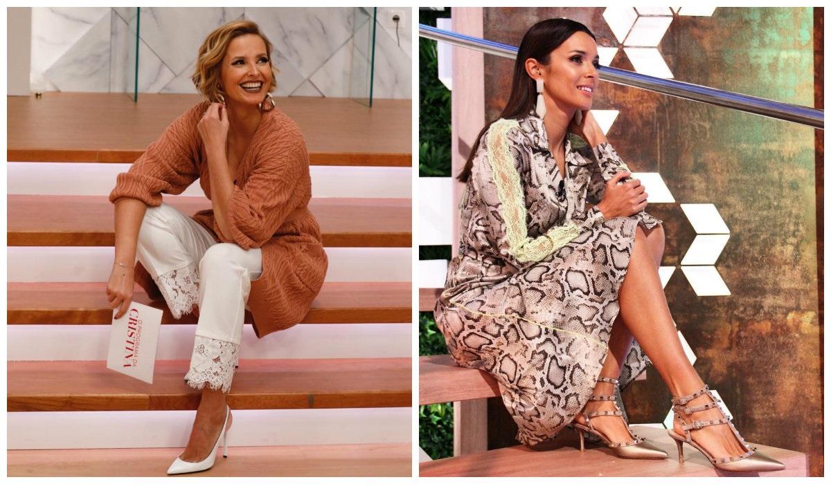 Cristina Ferreira e Maria Cerqueira Gomes