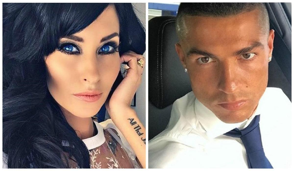 Jasmine Lennard e Ronaldo
