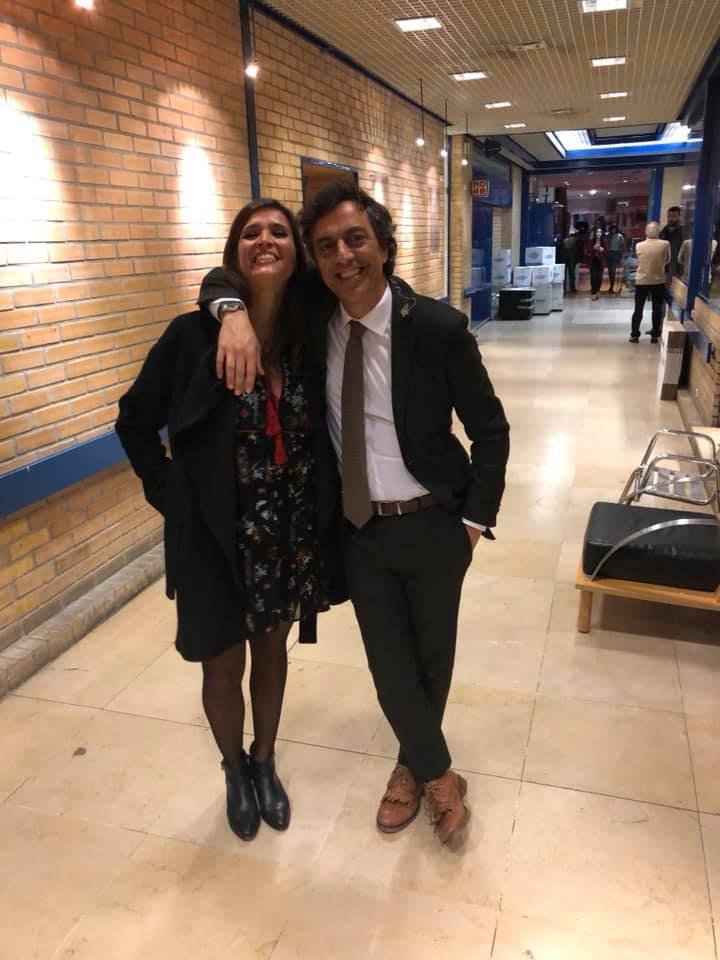 Teresa Peres e Miguel Ribeiro