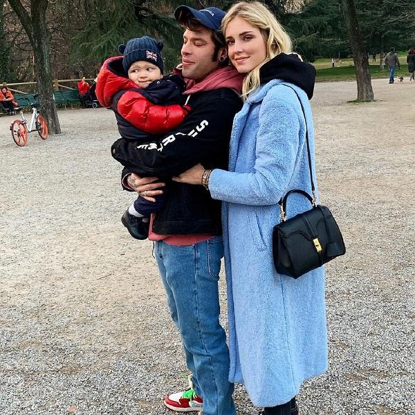 A reação impagável do filho de Chiara Ferragni e Fedez quando os pais se beijam