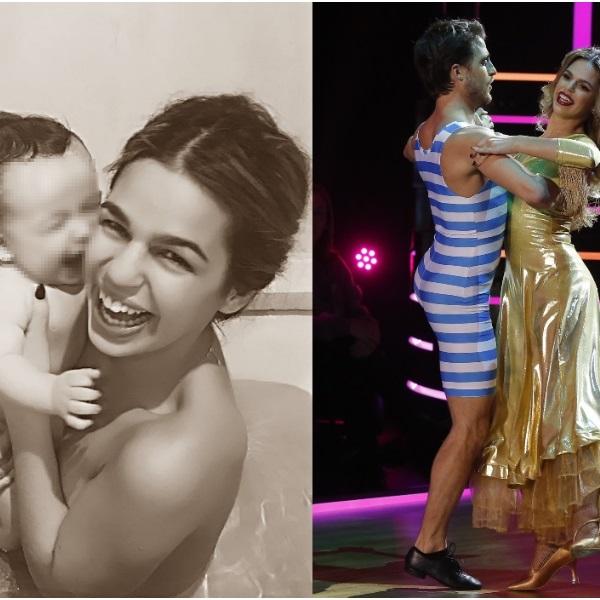 Bailarina do Dança com as Estrelas teve bebé em risco no parto e pensou em não aceitar desafio