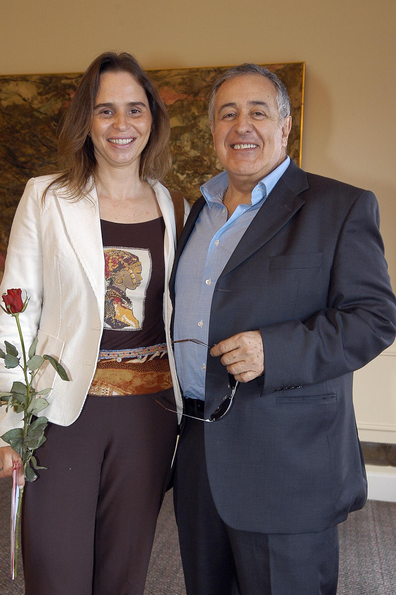 Mafalda Bessa e Nicolau Breyner