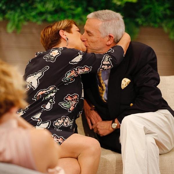 O beijo de Luísa Castel-Branco ao marido que deixou Cristina Ferreira de boca aberta | VÍDEO