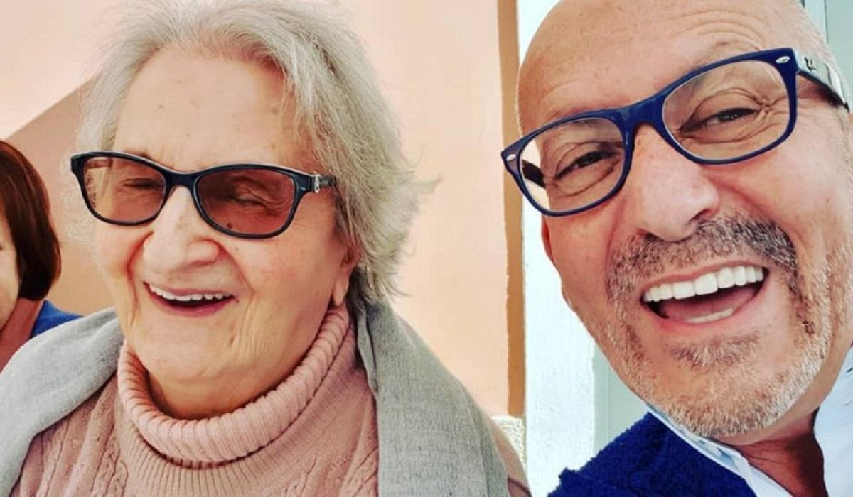 Manuel Luís Goucha e a mãe