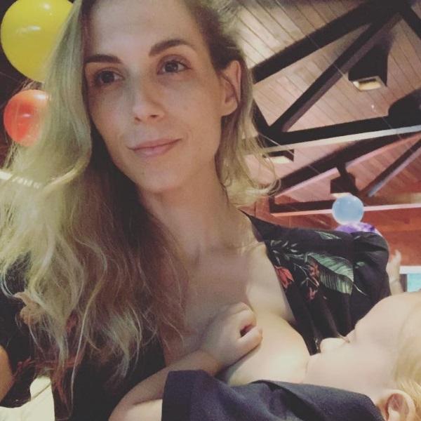 Ex atriz mostra filho no hospital e garante que viveu um verdadeiro pesadelo