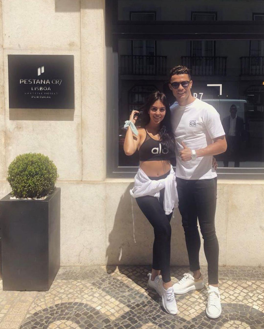 Cristiano Ronaldo e Georgina Lisboa