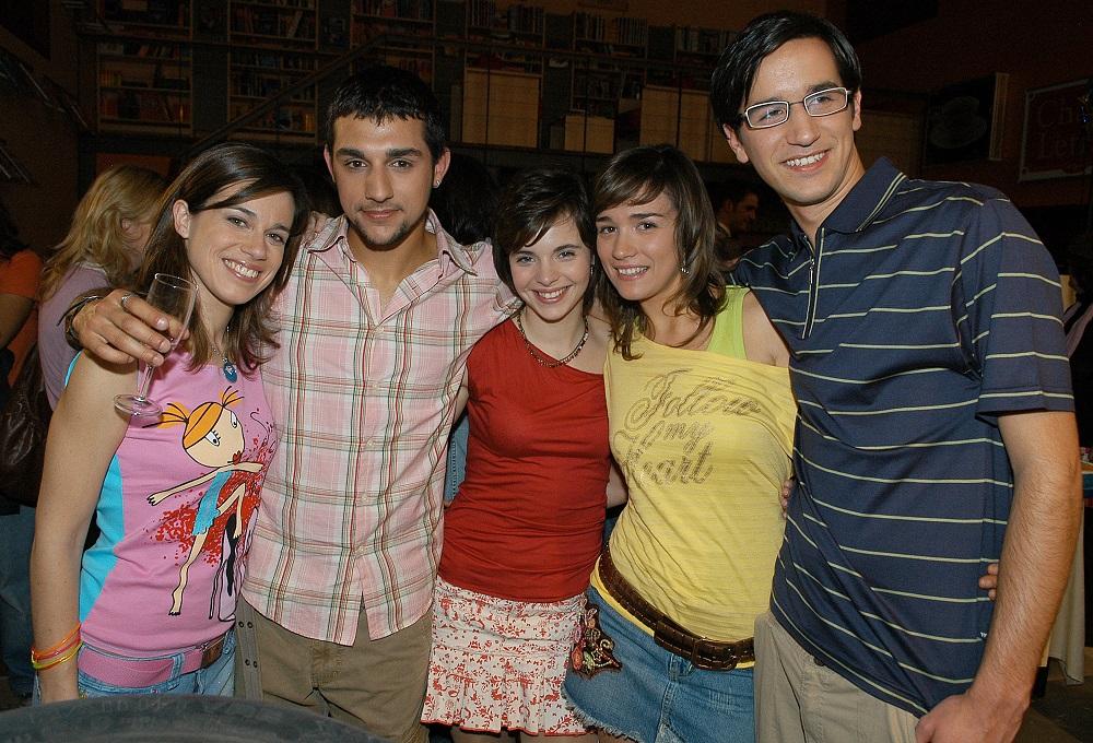 Ana Cloe, Marco Medeiros, Teresa Macedo, Raquel Guerra e Tiago Barroso