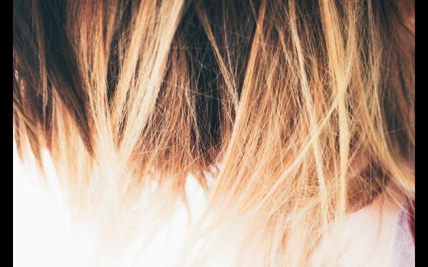 mulher cabelos