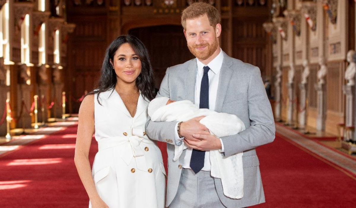 Meghan Markle e o príncipe Harry
