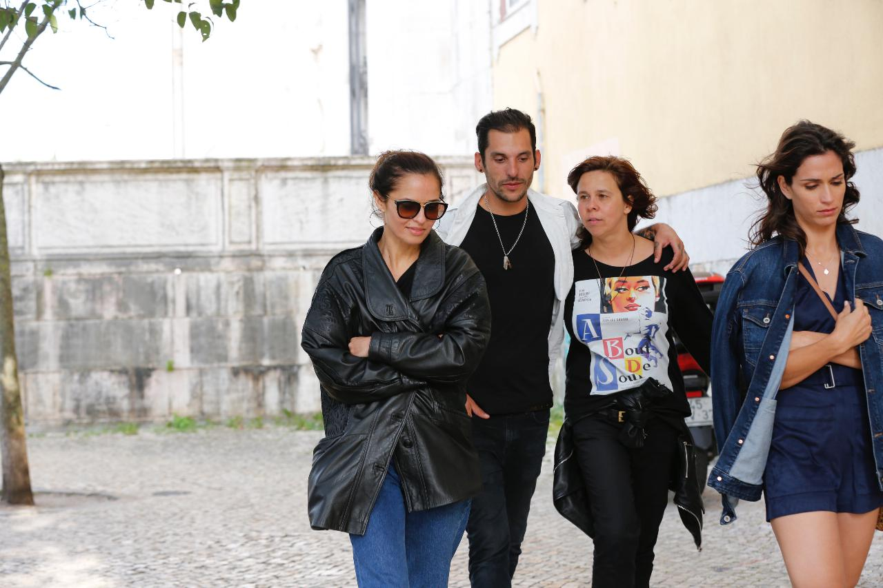 Vera Kolodzig, Ruben Maio e Leonor Babo