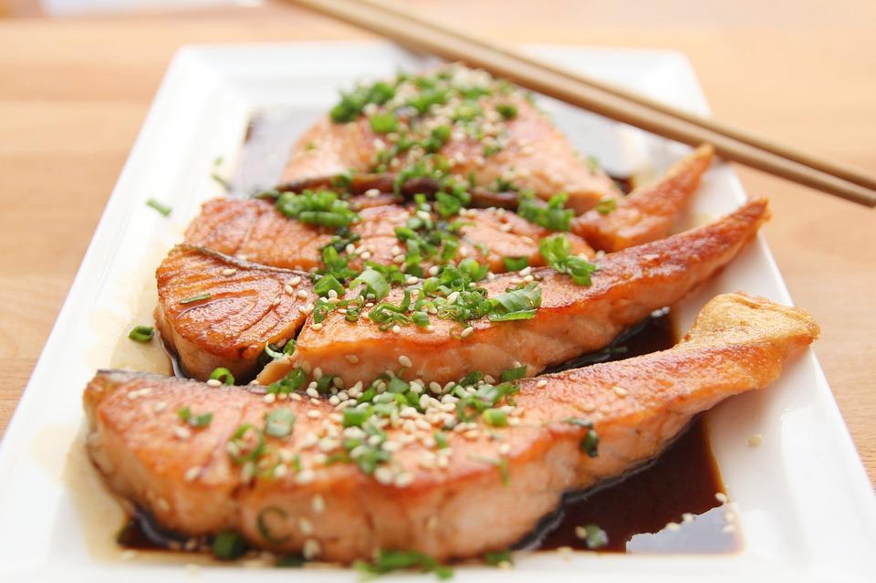 peixe salmão