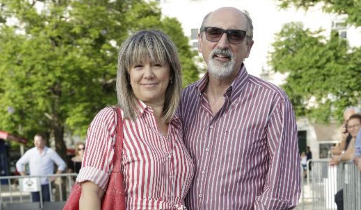 António Cordeiro e a mulher