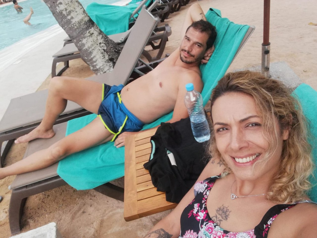 Liliana e Pedro Pé-Curto estão na Ilha Maurícia