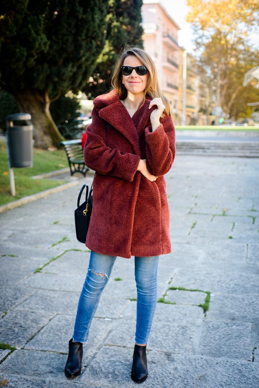 casaco Heidi Klum Pipoca