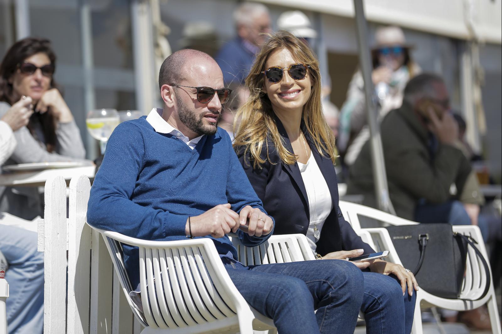 Cláudia Jacques e Olivier Parente