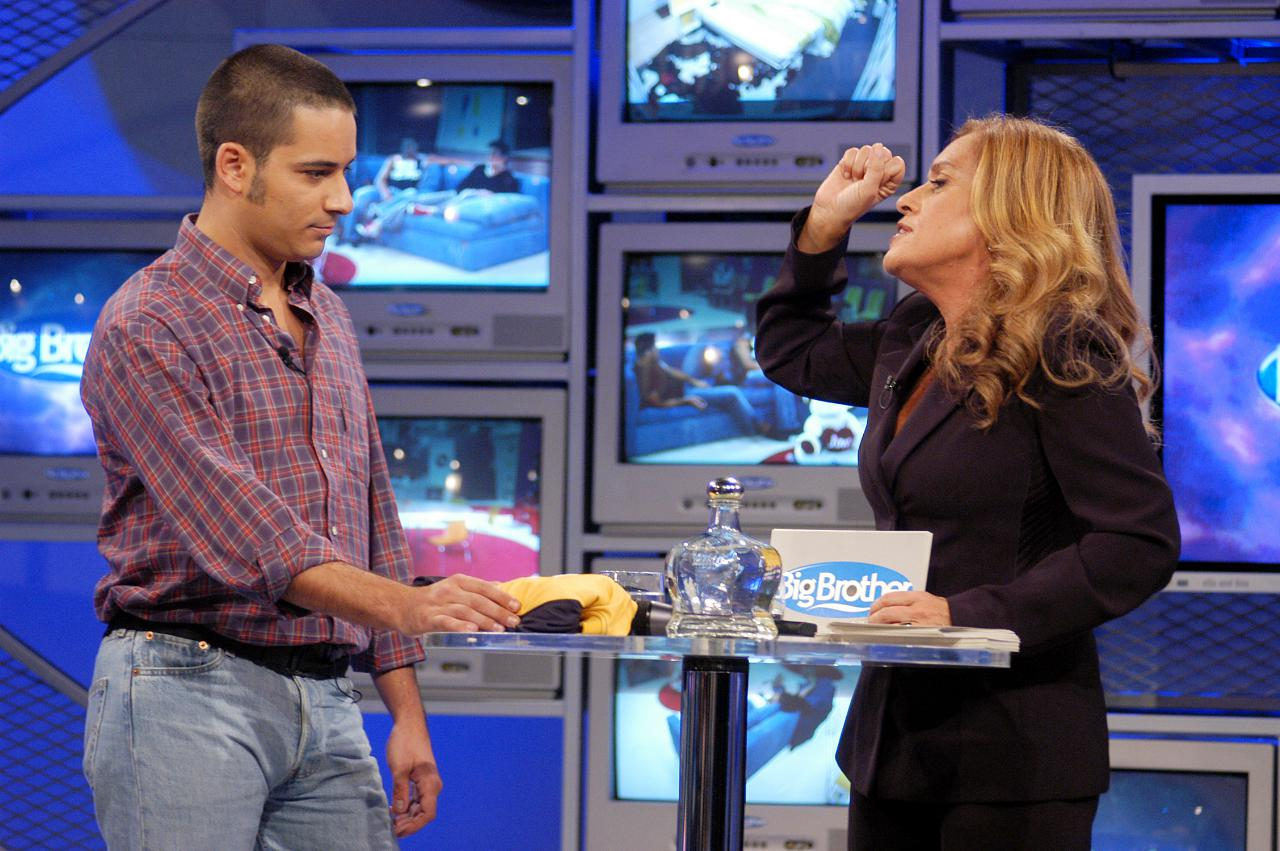 Teresa Guilherme e Telmo no Big Brother