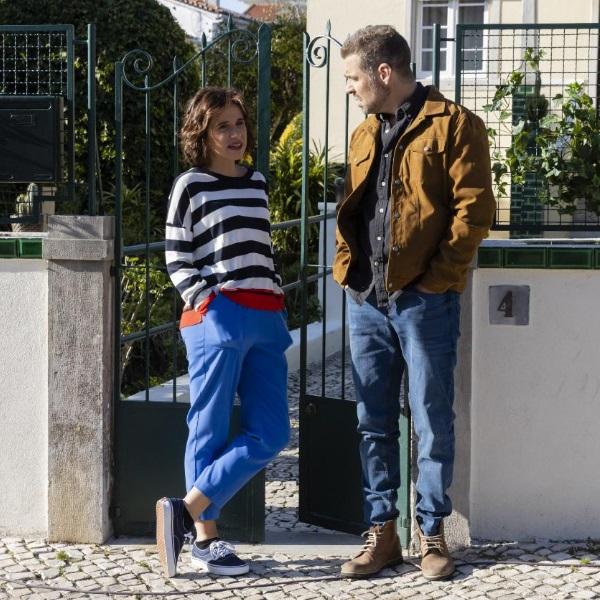 Na Corda Bamba: Lúcia e Pipo fazem as pazes e envolvem-se sexualmente
