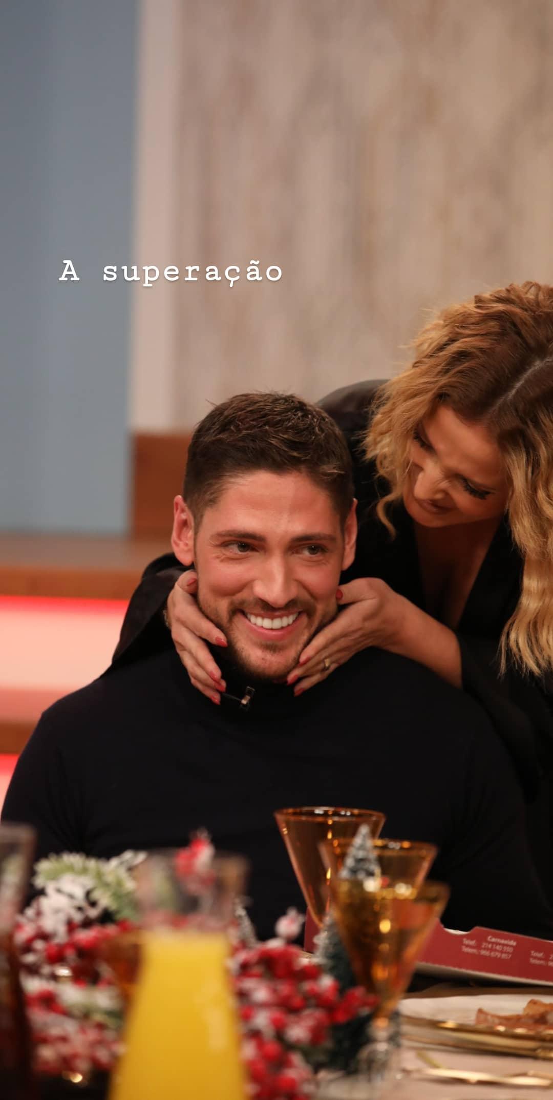 Ângelo Rodrigues e Cristina Ferreira