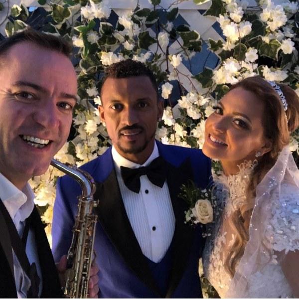 Nani casou-se com Daniela Martins. Veja as fotos da cerimónia