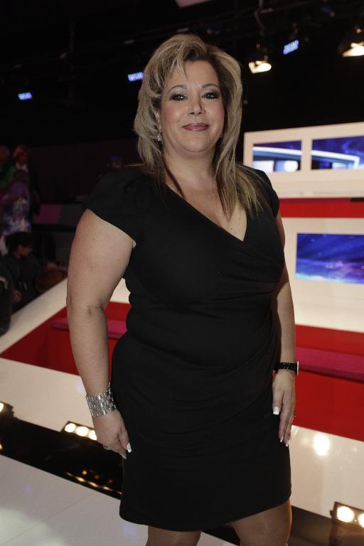 Lurdes Ferreira, a mãe de Alexandra Ferreira,