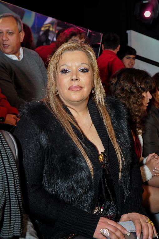 Lurdes Ferreira, a mãe de Alexandra Ferreira